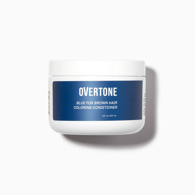oVertone Blue For Brown Hair Coloring Conditioner