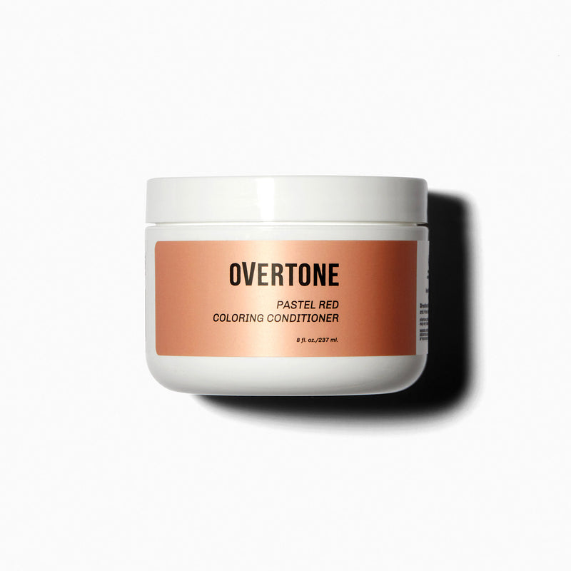 oVertone Pastel Red Coloring Conditioner