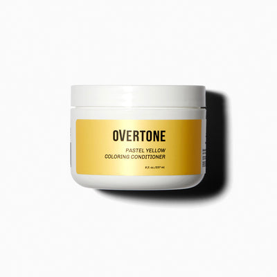 oVertone Pastel Yellow Coloring Conditioner