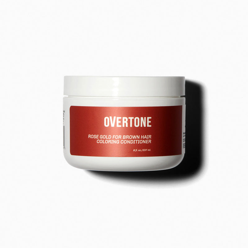oVertone Rose Gold for Brown Hair Coloring Conditioner