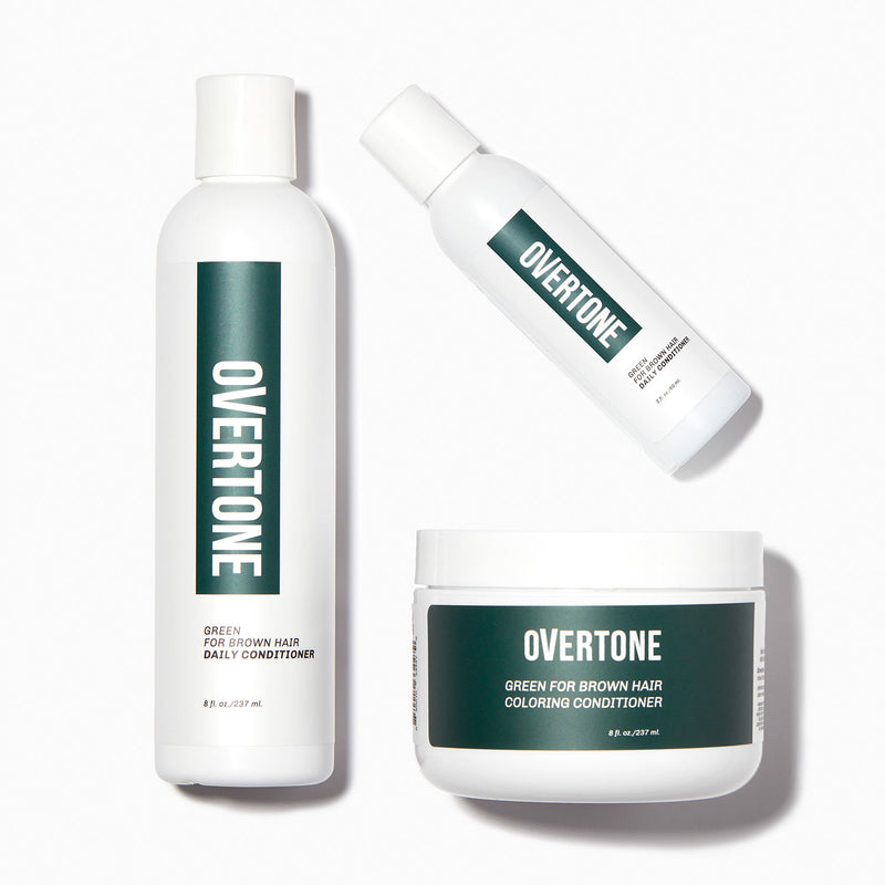 oVertone Green for Brown Complete System