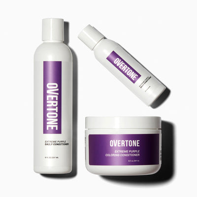 oVertone Extreme Purple Hair Complete System