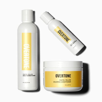 oVertone Pastel Yellow Complete System