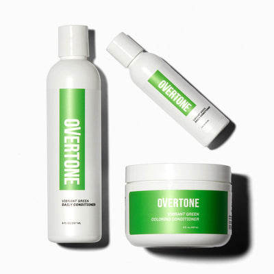 oVertone Vibrant Green Complete System