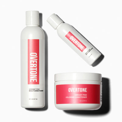 oVertone Vibrant Pink Complete System