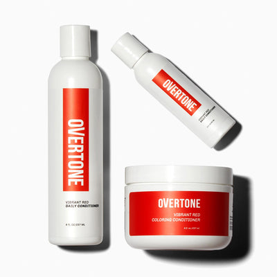 oVertone Vibrant Red Complete System