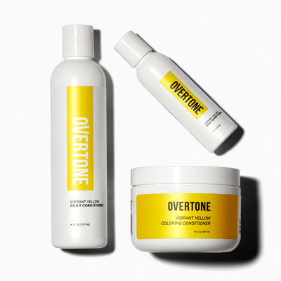 oVertone Vibrant Yellow Complete System