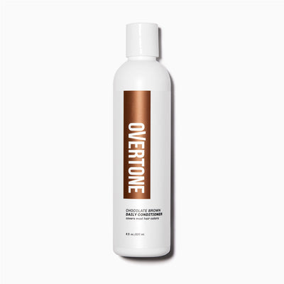 oVertone Chocolate Brown Daily Conditioner