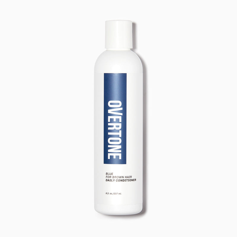 oVertone Blue For Brown Hair Daily Conditioner