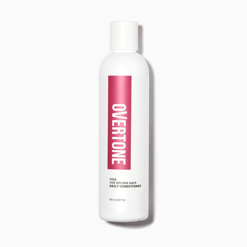 oVertone Pink for Brown Hair Daily Conditioner