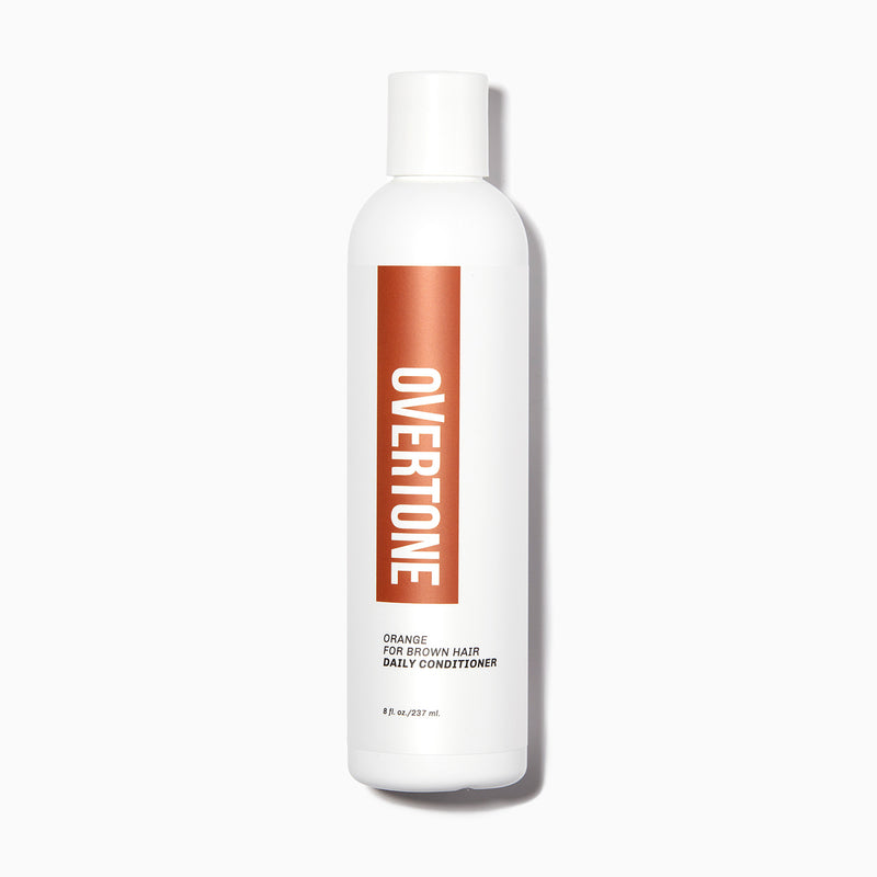 oVertone Orange For Brown Hair Daily Conditioner