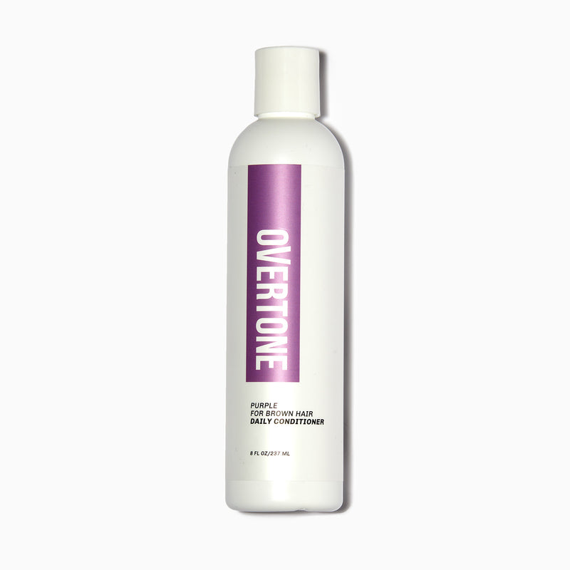 oVertone Purple for Brown Hair Daily Conditioner
