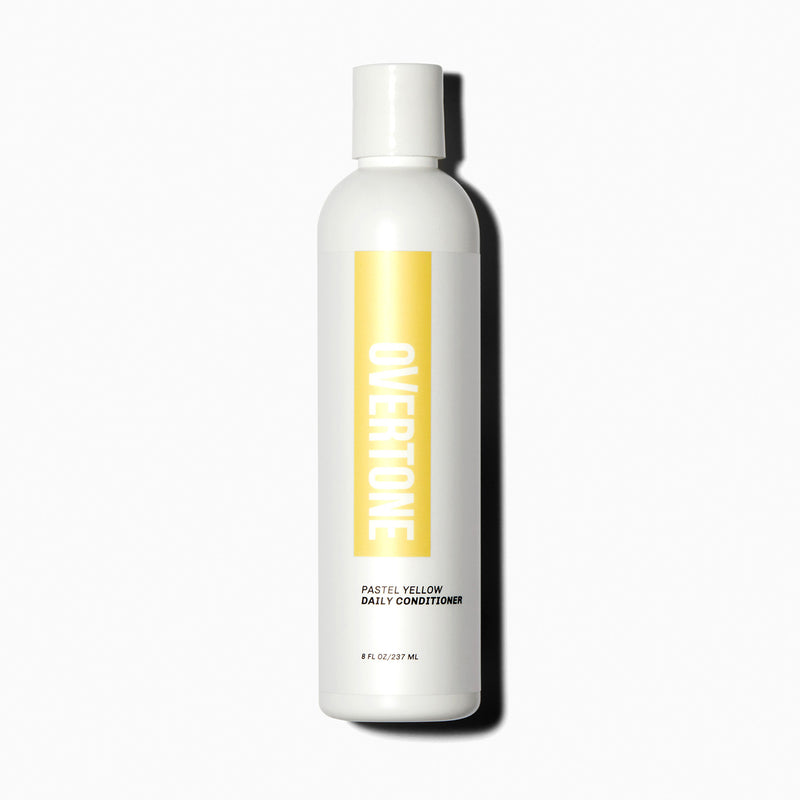 oVertone Pastel Yellow Daily Conditioner