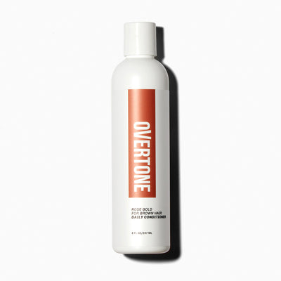 oVertone Rose Gold for Brown Hair Daily Conditioner