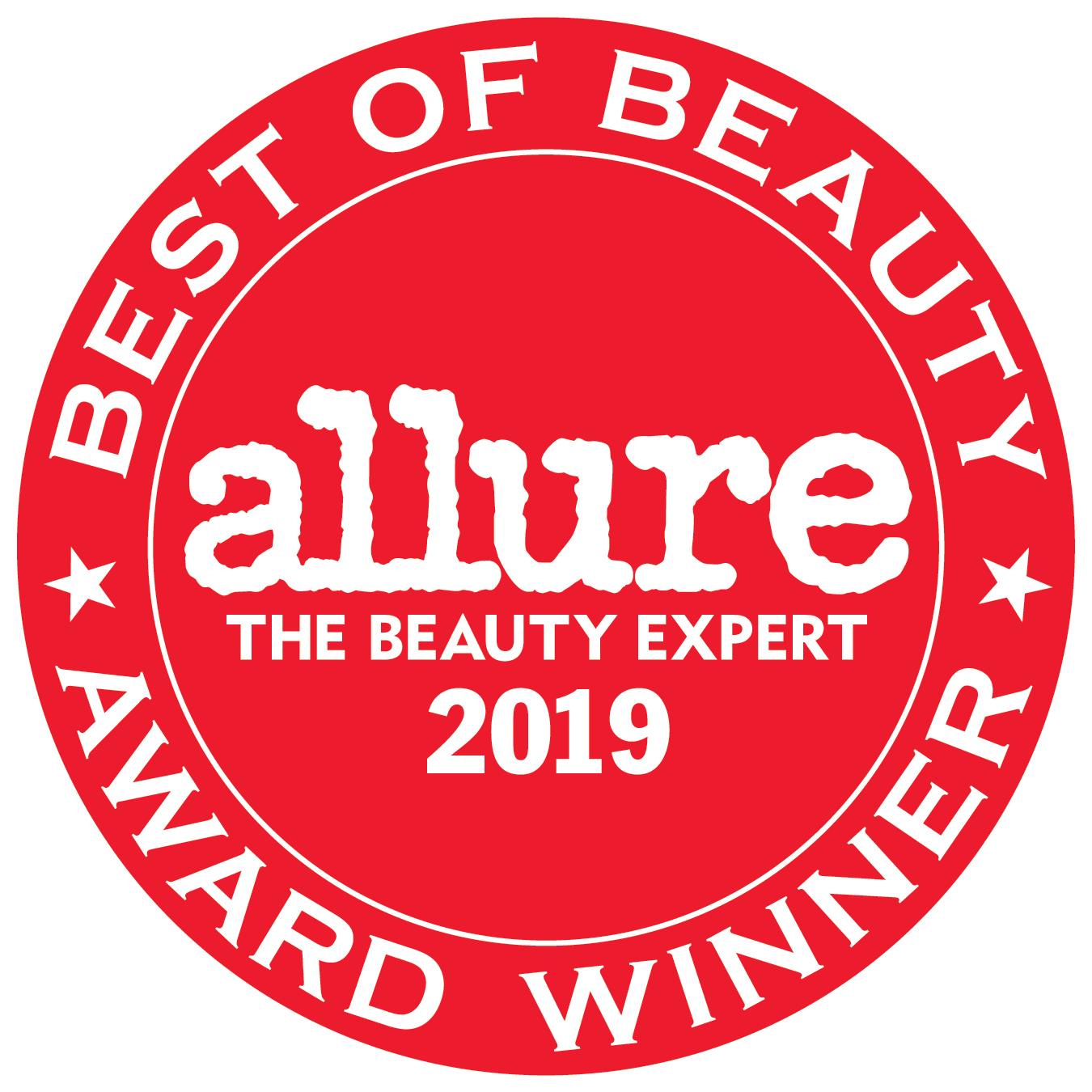 allure beauty badge 2019
