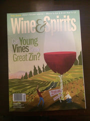 Ousterhout Nance's Vineyard Zinfandel featured in Wine and Spirits Magazine cover story