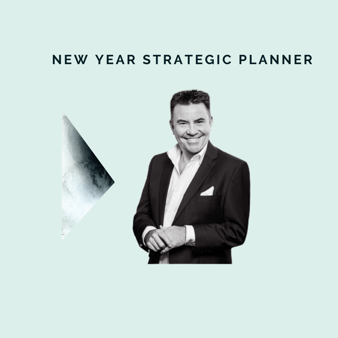**New Year Business Strategic Planner