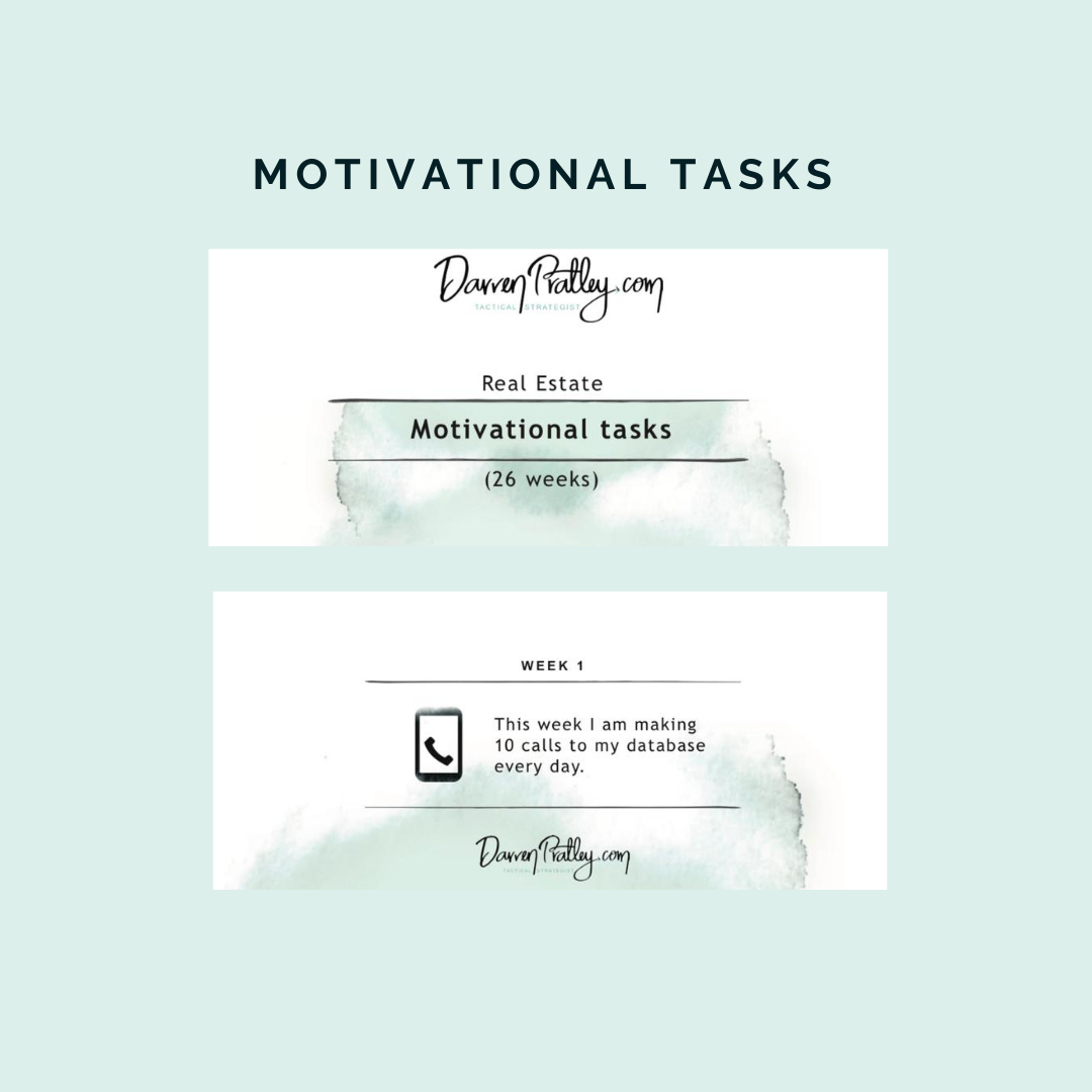 Motivation Tasks  Calendar
