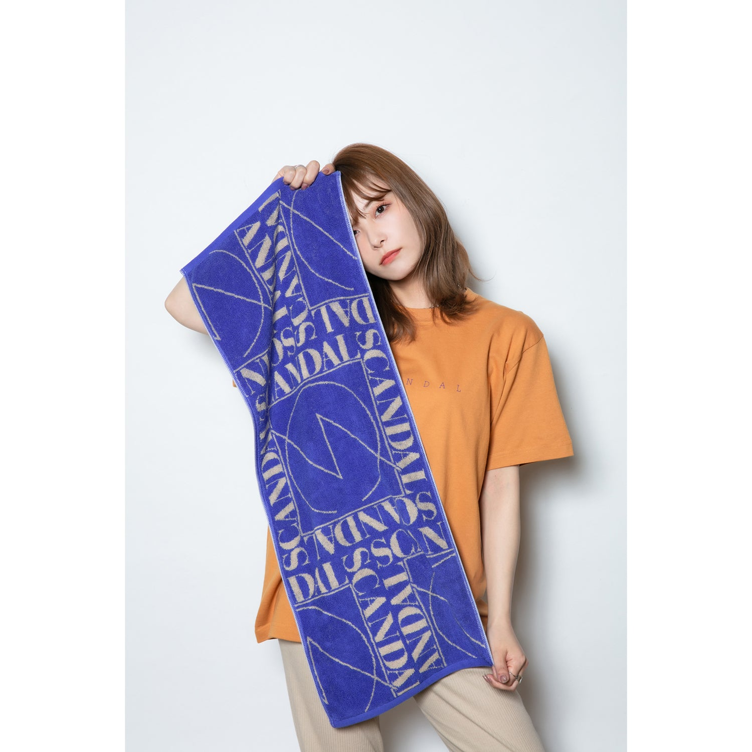 Scandal 2021 Towel Blue