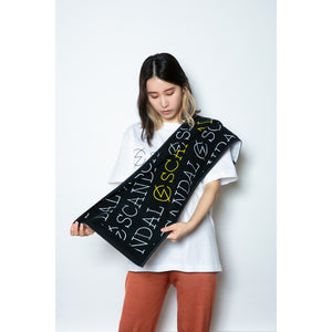 Scandal Band Logo Towel Black