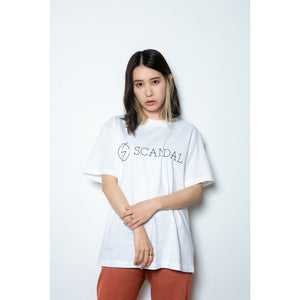 Scandal Basic Logo Tee White