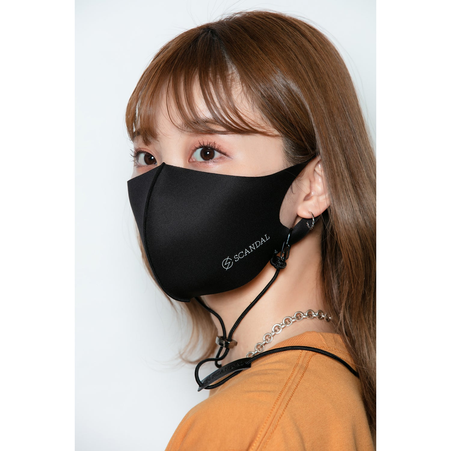 Scandal Face Mask Black