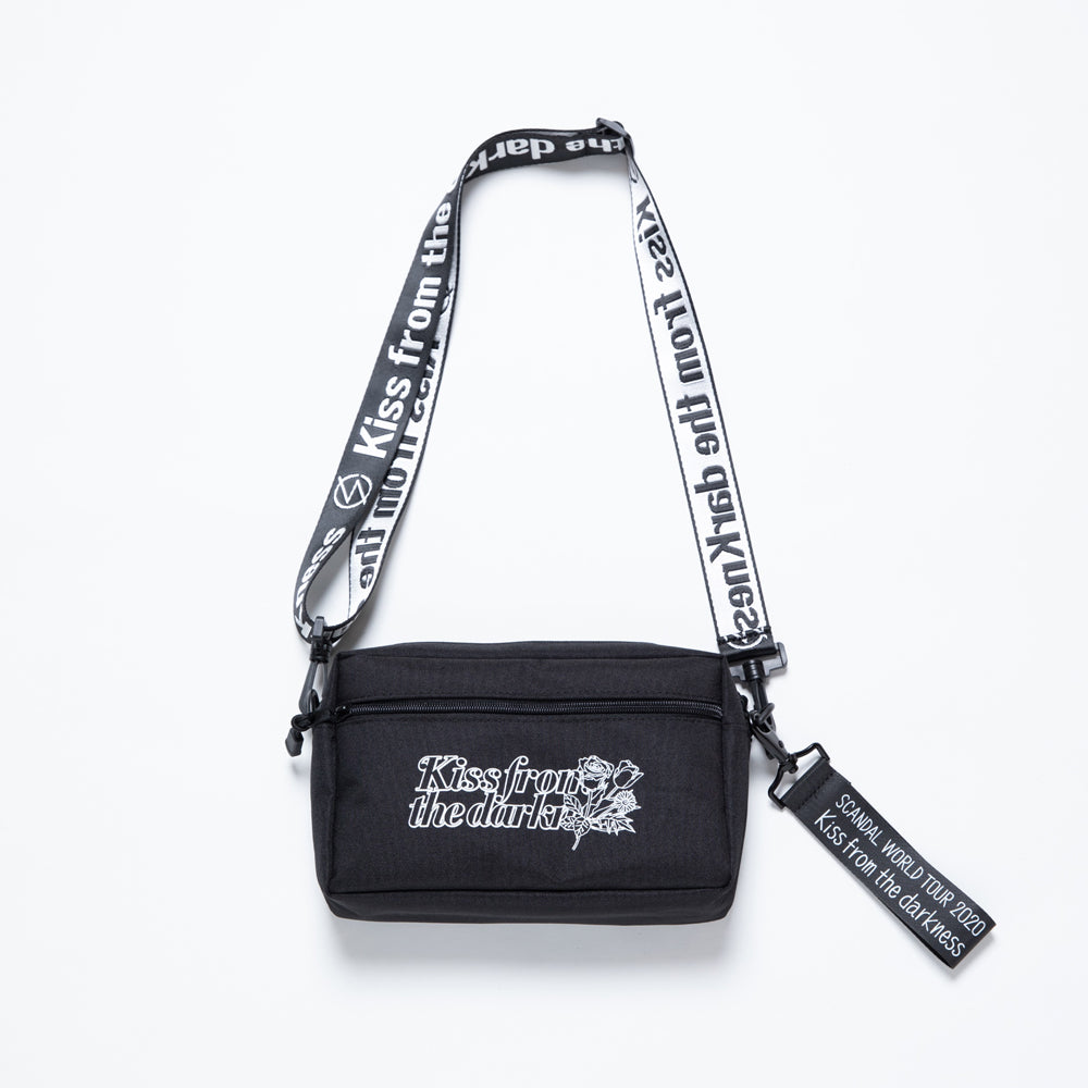 Scandal Kiss From the Darkness Shoulder Bag Black