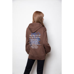 Scandal Kiss From the Darkness Sweatshirt Brown