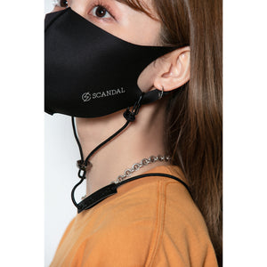 Scandal Mask Cord Black
