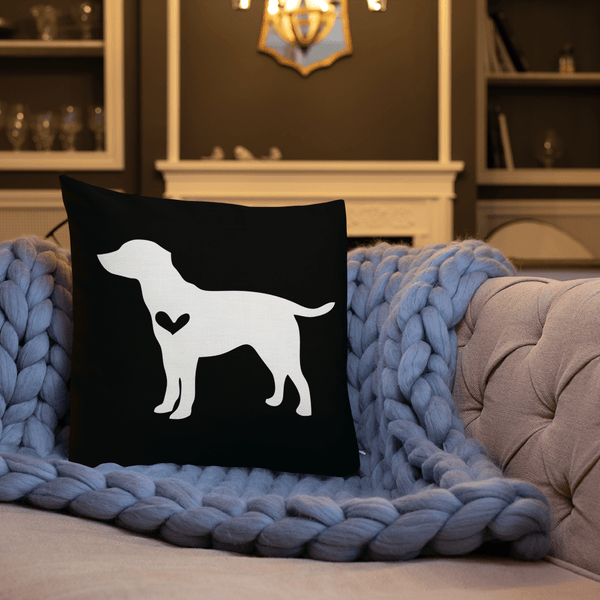 Labrador Dog Custom Pillow
