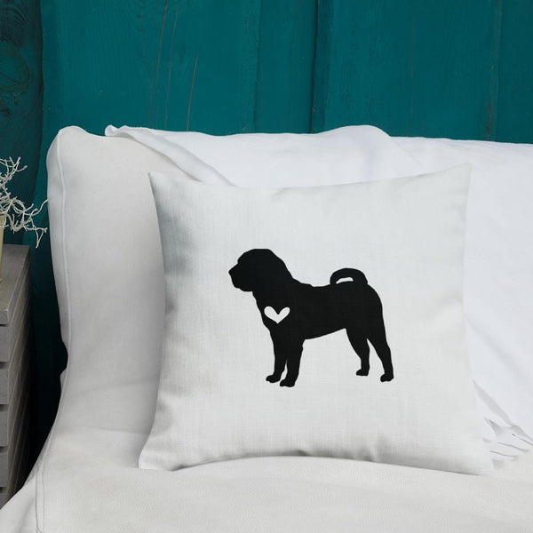 Shar Pei Dog Custom Pillow