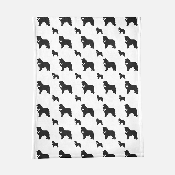 Great Pyrenees Dog Minky Blanket