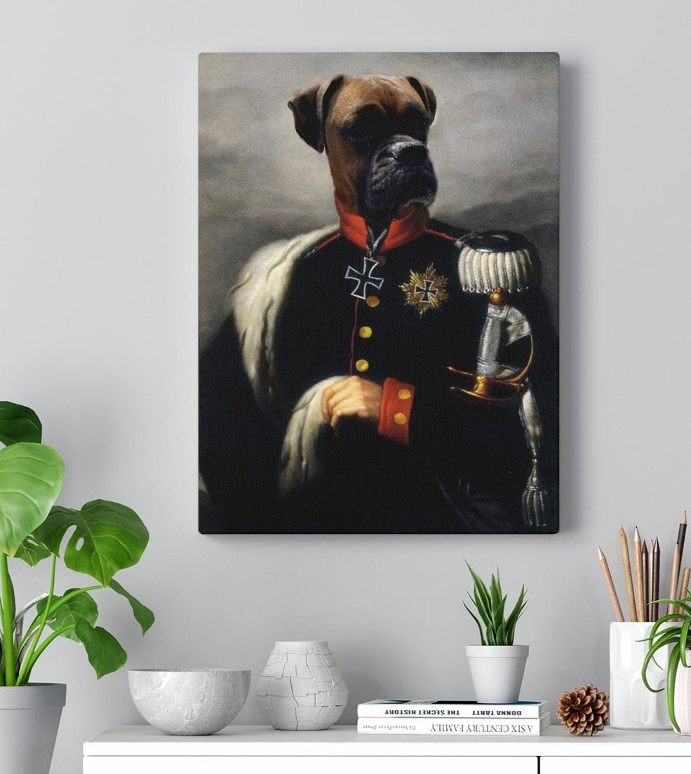 The General - Custom Pet Canvas Gallery Wraps
