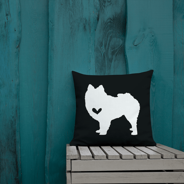 Pomeranian Dog Custom Pillow