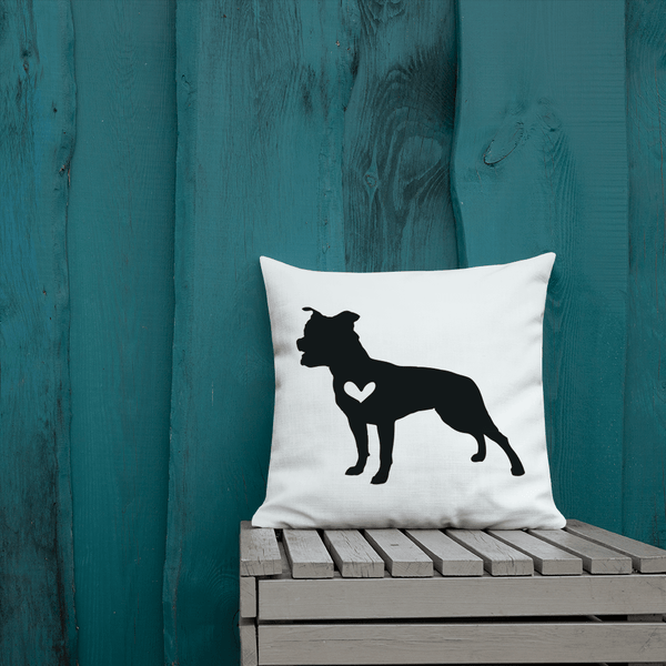 Stafffordshire Terrier Dog Custom Pillow