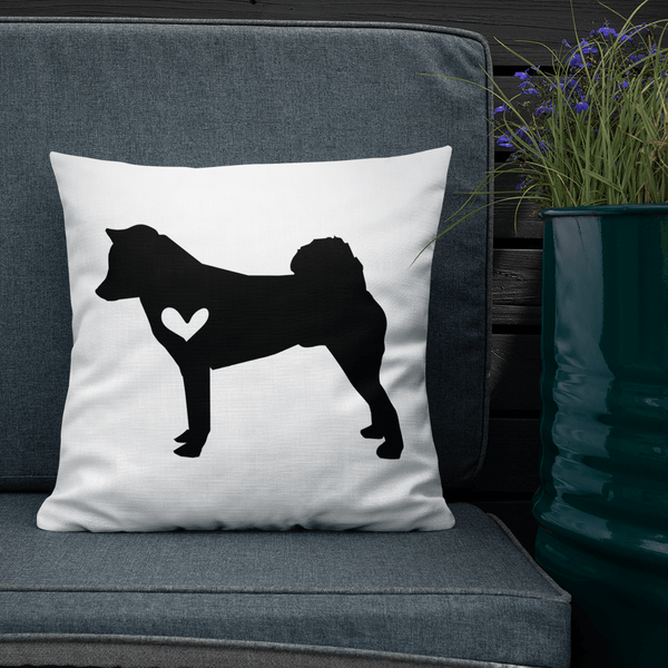 Shiba Inu Dog Custom Pillow