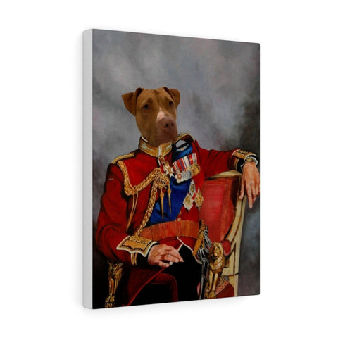 The Colonel - Custom Pet Canvas Gallery Wraps