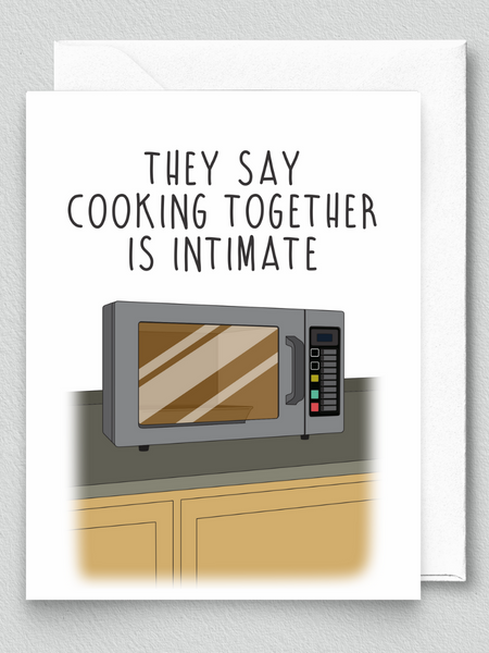 Cooking Is Intimate
