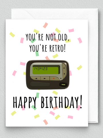 Retro Birthday