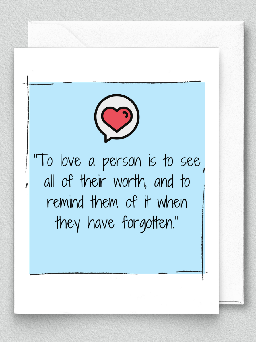 To Love a Person