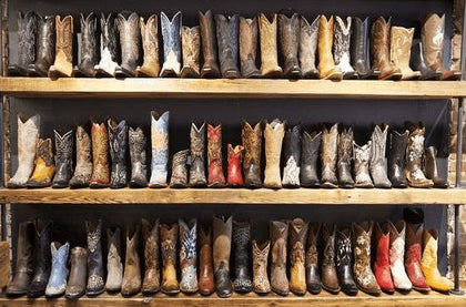 Collection Bottes Western