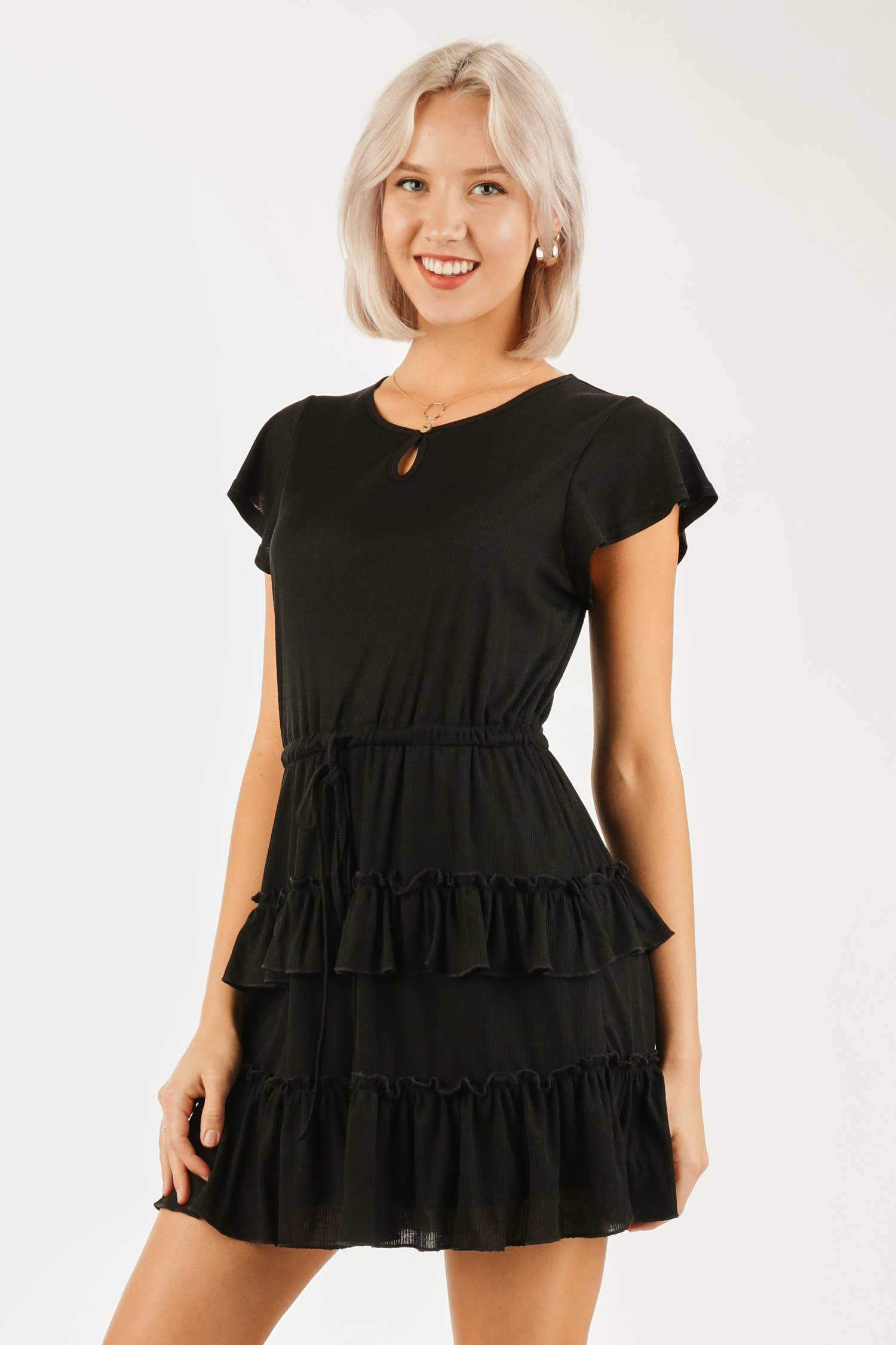 The Jessica Baby Doll Dress - Vida Boutique Inc.