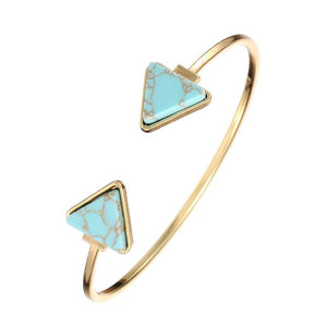 Coachella Blue Cuff - Vida Boutique Inc.