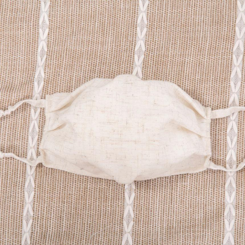 Oatmeal Cloth Face Mask - Vida Boutique Inc.