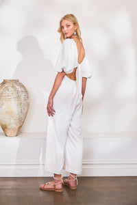 Lost in Lunar Lucina Jumpsuit White - Vida Boutique Inc.