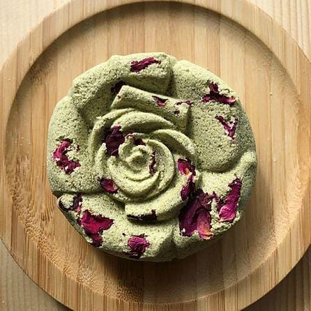 Sacred Bather Lavender Matcha Rose Bath Bomb - Vida Boutique Inc.