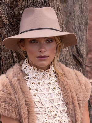 Ace of Something Splendour Fedora Beige - Vida Boutique Inc.