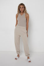 Load image into Gallery viewer, Madison the Label Est. 2010 Track Pants Stone - Vida Boutique Inc.