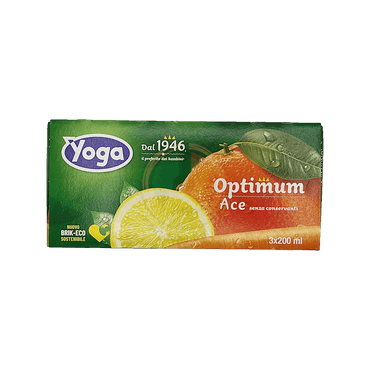 Succo Ace Optimum - Yoga - 3x200 ml