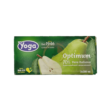 Succo Pera Optimum - Yoga - 3x200 ml